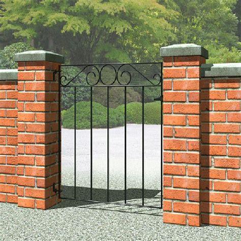 small gate metpost ironbridge small metal gate 3ft high 850mm elbec garden buildings