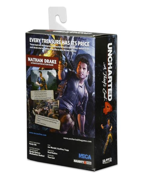 uncharted 4 figure uncharted 4 7 quot scale figure ultimate nathan