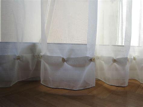comment raccourcir des rideaux raccourcir des rideaux sans machine 224 coudre le petit