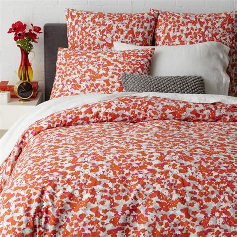 Floral Duvet Cover King camo floral duvet cover king west elm
