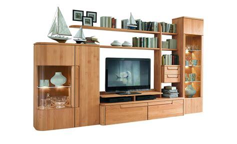 wohnzimmer 3 meter breit w 214 stmann massivholz wohnwand cantana3000 h 246 ffner