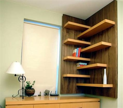 space saving corner shelves design ideas designs for your self made corner shelf space saving