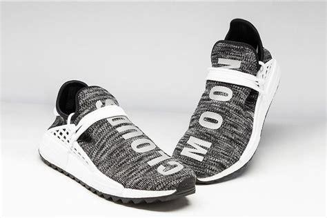 Adidas Nmd Hu X Pharrel William Cloud Mood Sepatu Jaln Pria Premium release pharrell williams x adidas nmd hu trail black