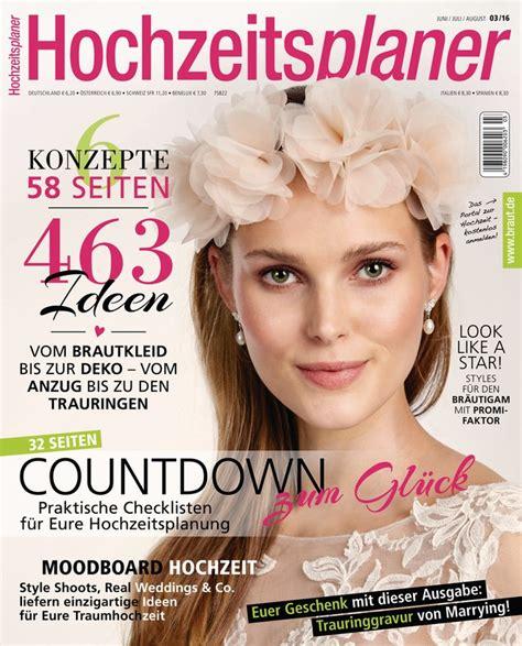 Zeitschrift Hochzeitsplaner by Hochzeitsplaner Zeitschrift Als Epaper Im Ikiosk Lesen
