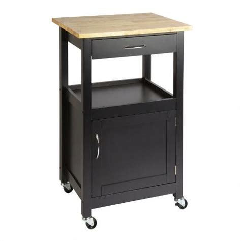 Rolling Cart With Drawers by Black Rolling Kitchen Cart With Drawer Tree