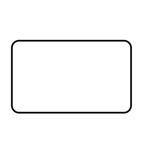 Png Outline Shapes by Rectangle Shape Stroke Transparent Png Svg Vector