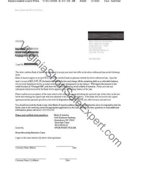 certified letter bank of america pre approval letter for home loan bank of america
