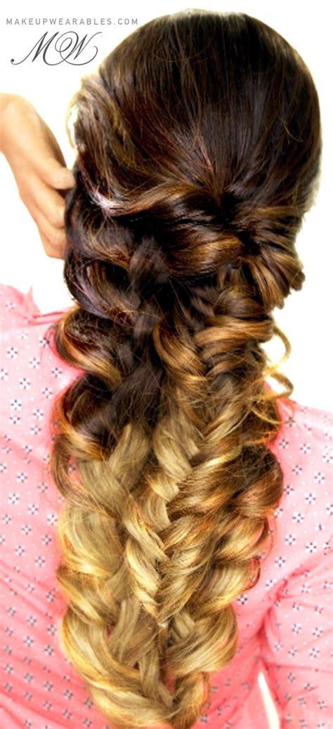 everyday hairstyles braids easy topsy tail braid hair tutorial cute everyday
