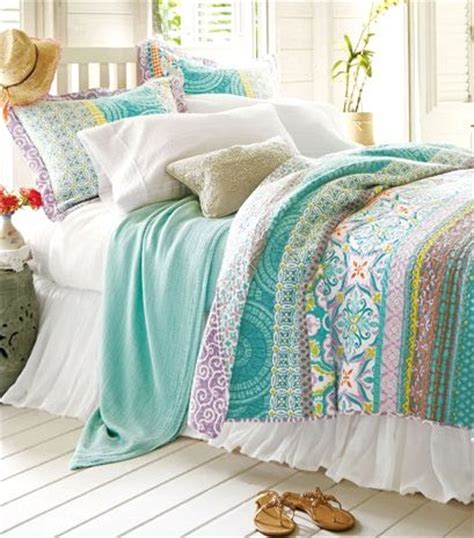 Beach bedding collections slip away to the soothing shoreline beach bliss living