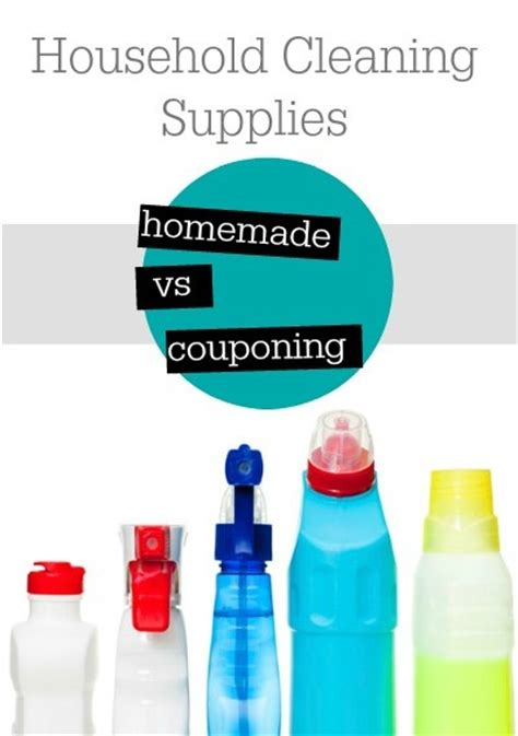 cleaning and couponing household supplies homemade vs couponing southern savers