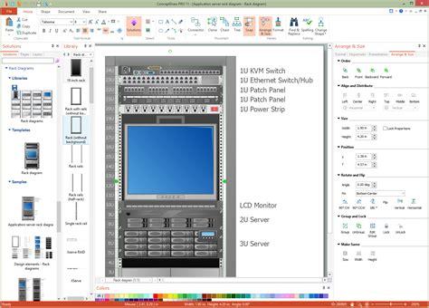 rack diagram software rack diagram software furniture ideas for home interior