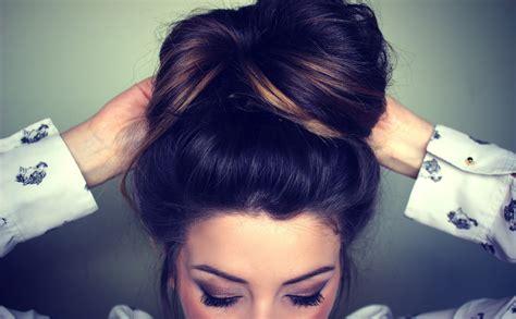 hairstyles for long hair zoella zoella messy bun