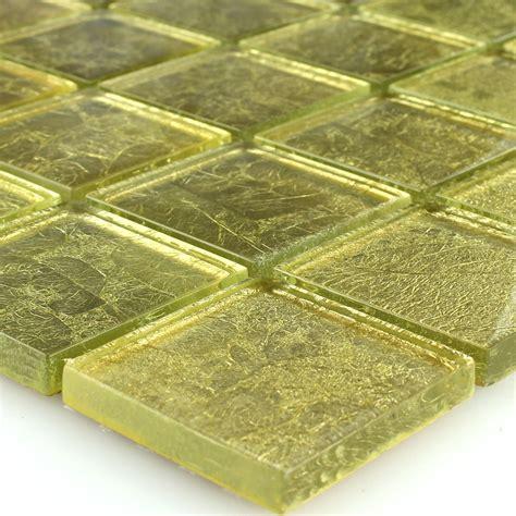 piastrelle metallo mosaico vetro piastrella oro metallo tg12153m