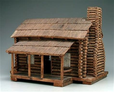 Model Log Cabin by 577 Best Dollhouses Miniatures Images On