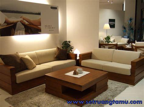 Kursi Tamu Minimalis Ligna kursi tamu minimalis kayu jati elegan modern terbaru murah