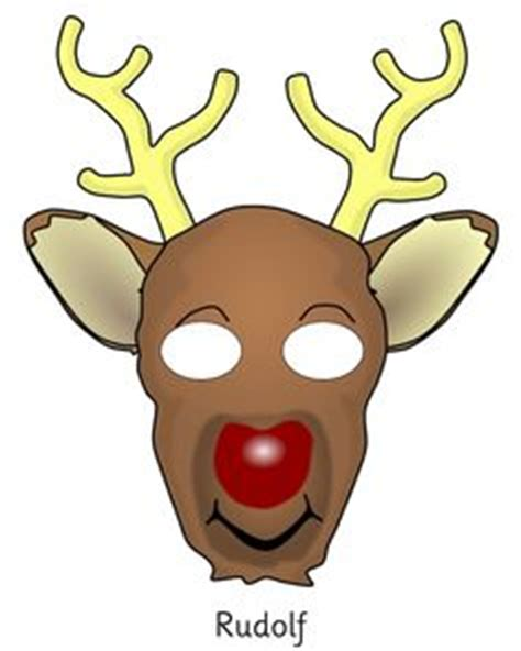 printable christmas masks 1000 images about christmas printables on pinterest