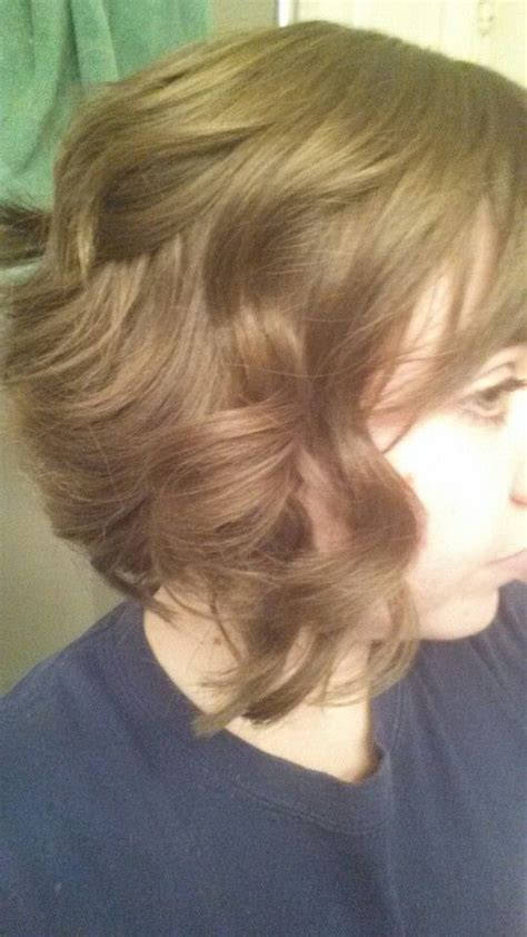 reverse ombre curls short hairstyle 2013 reverse bob curly hair picture hd short hairstyle 2013