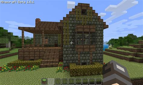 Cottage Minecraft starter home cottage minecraft project