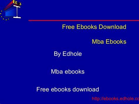 Mba Ebooks Free mba ebooks edhole