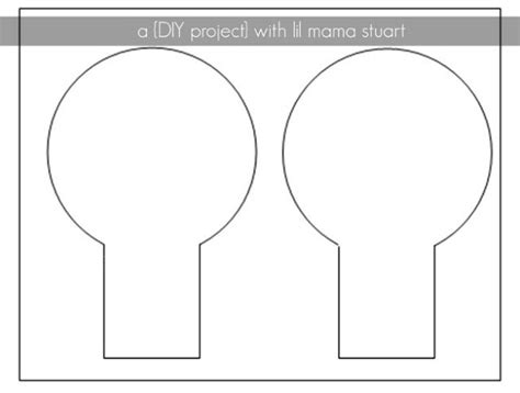 mouse ears template a day with lil stuart diy mickey minnie mouse ears