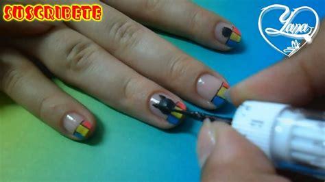 imagenes de uñas decoradas con gatos 23 decorados de u 241 as gato con fondo de colores yana
