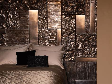Living Room Paint Effects Textured Metallic Paint Effect On Bedroom Wall Akzonobel
