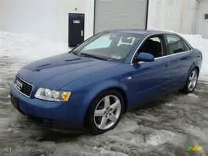 2002 Audi A4 3 0 Quattro 0 60 Denim Blue Pearl 2002 Audi A4 3 0 Quattro Sedan Exterior
