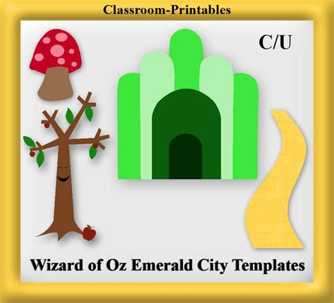 wizard of oz templates 17 best images about wizard of oz on clip