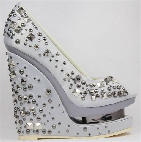 silver wedge bridesmaid shoes comfortable and