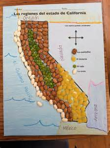 four regions of california map regions of california with pinto bean mountains green