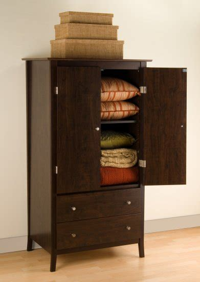 espresso tv armoire espresso bedroom clothes tv armoire storage dresser