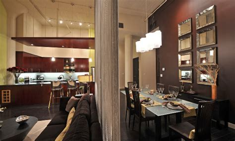 urban loft great room contemporary family room dallas  wintercreative interior design