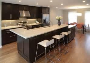 Ordinaire Concevoir Sa Cuisine En 3D #5: cuisine-%C3%AElot-dangle-style-moderne-blanc-inox-bois-noir.jpg