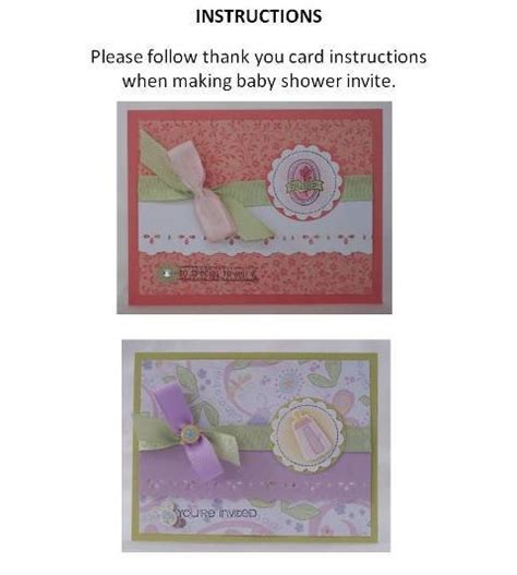 Make A Baby Shower Card Free by Baby Shower Invitation With Exles Of Handmade