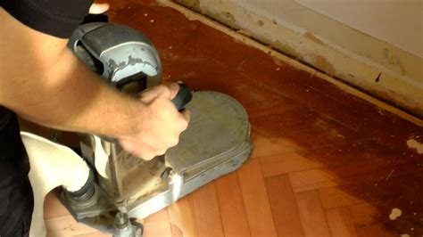 What Is Floor Sanding by How To Use An Edge Floor Sander