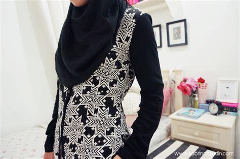 Pp Hello Sabrina Top Blouse tops from izie fashion sabrina tajudin malaysia lifestyle