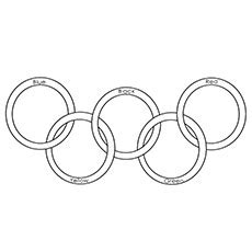 20 Best Olympic Coloring Pages For Toddlers Olympic Rings Coloring Page