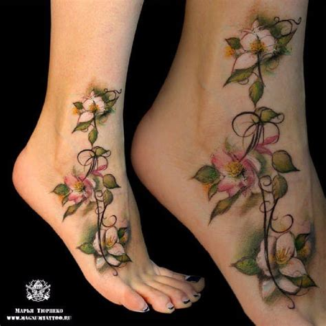 10 splendid jasmine flower tattoos tattoodo