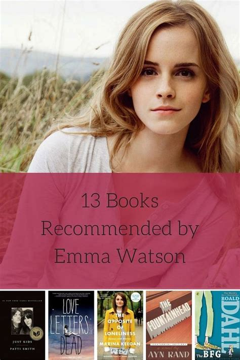 emma watson book 13 books recommended by harry potter star emma watson
