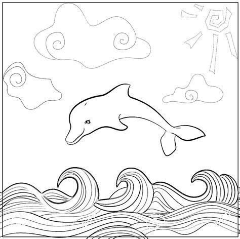imagenes para colorear water dibujos de delfines para colorear dibujos y tambien