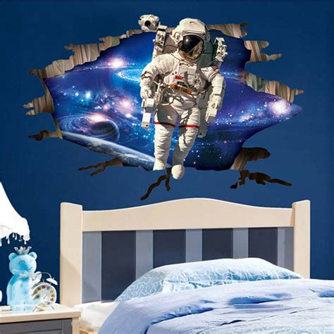 outer space decor comfortable outer space bedroom decor 3 types outer space planet 3d wall sticker room decor