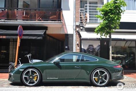 Brewster Green Green Cars Pinterest Porsche 991