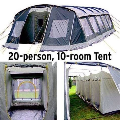 10 Room Cing Tent - gadgetking