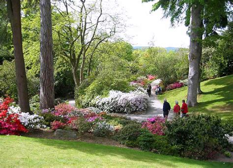 photos of gardens photos of a cycle ride from conwy to bodnant gardens