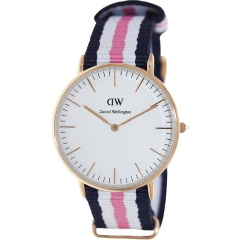 Montre Femme Daniel Wellington 0506DW bracelet cuir ,   Achat/vente montre   Les soldes* sur
