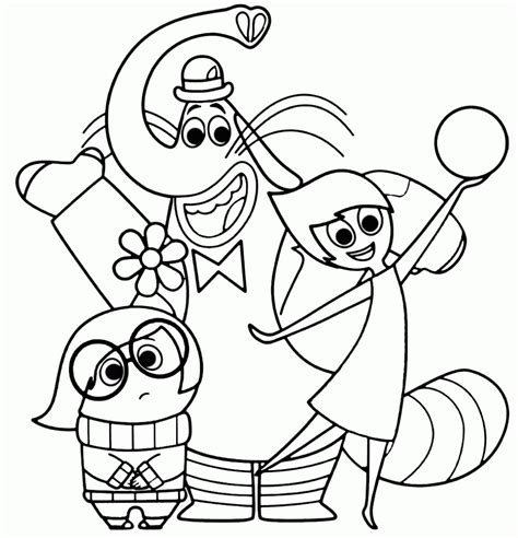 inside out coloring pages best coloring pages for