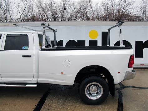 truck bed cab tracrac sr sliding truck bed ladder rack w over the cab