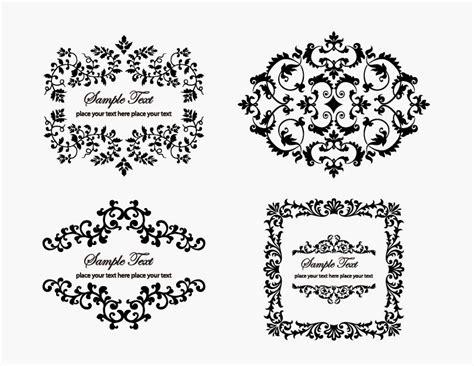 graphic design frame vector vintage floral frame element free vector graphics all