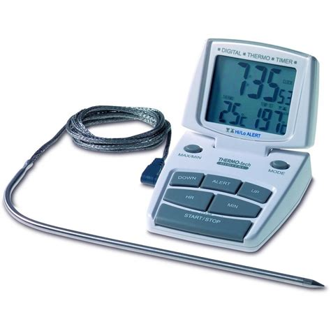 Termometer Oven Digital digital oven thermometer with timer alarm