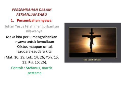 yesus sudah mengorbankan nyawanya untuk menebus dosa kita manusia hiduplah dalam berkat tuhan